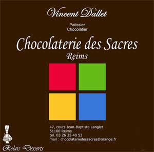 chocolatier Vincent Dallet Epernau