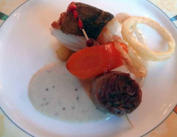 Plat restaurant Les Berceaux 10