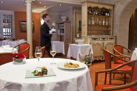 Le restaurant Les Berceaux